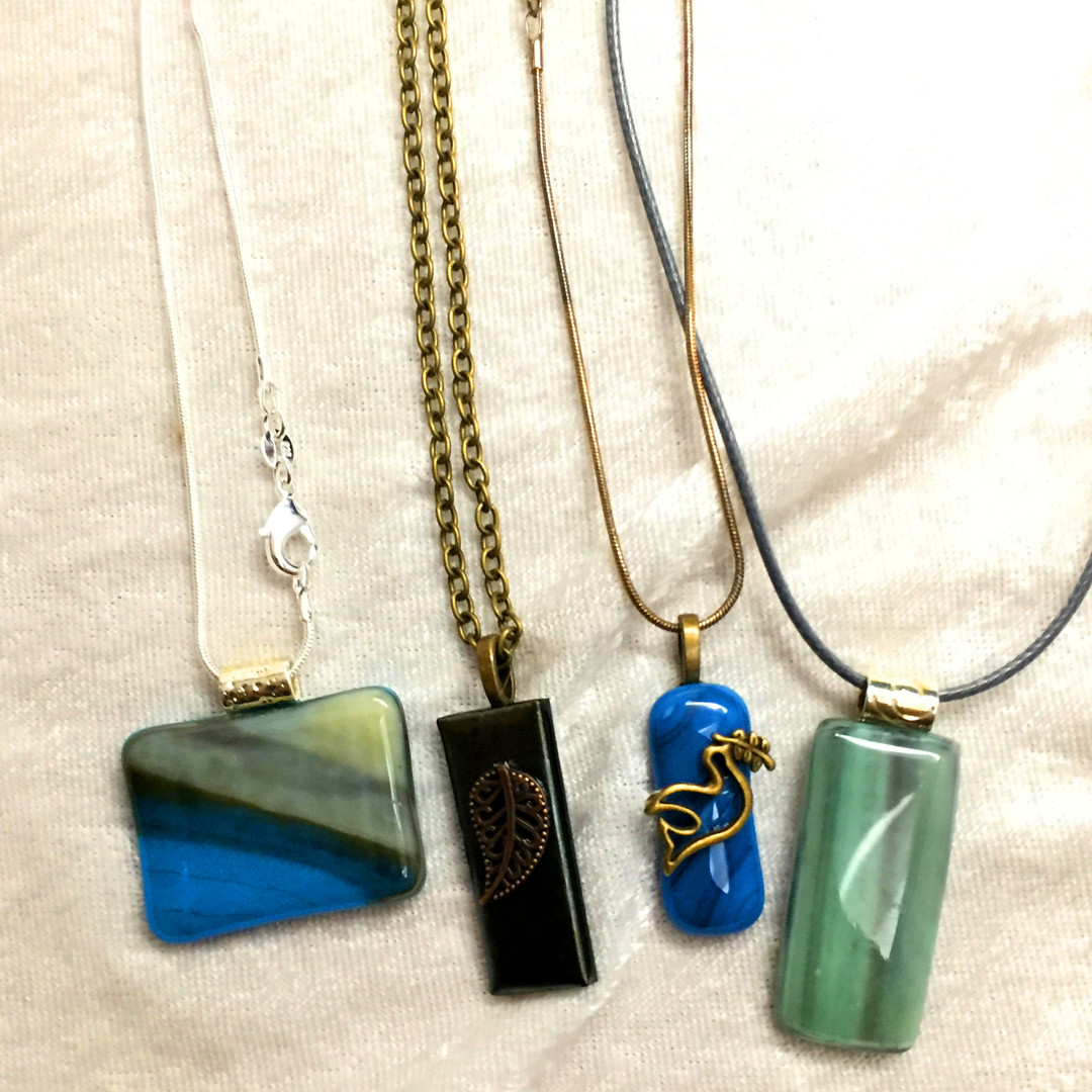 Some Favorite Glass Necklaces