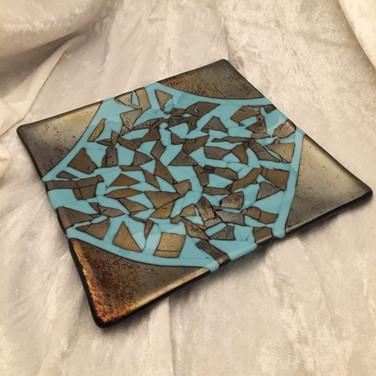 Blue and Chrome Mozaic