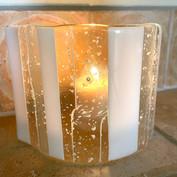 White Candle Votive