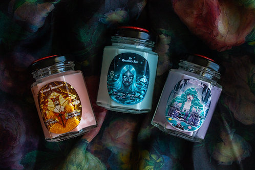 """Bundle: The """"Woodland Masquerade"""" Tea & Candle & Stickers"""