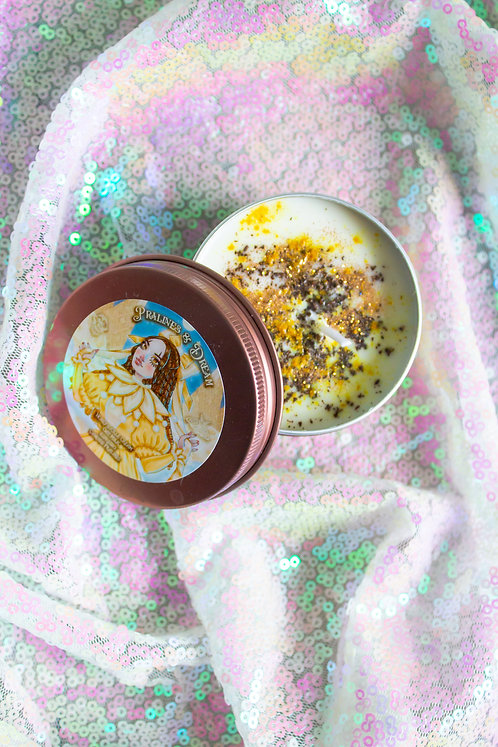 "The ""Pralines & Dream"" Tea Candle 🌼🌙"