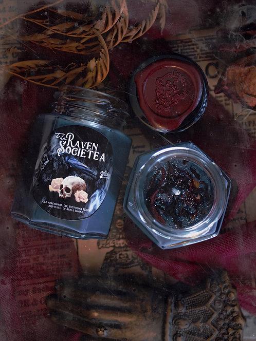 """The """"Raven Societea"""" Tea Candle"""