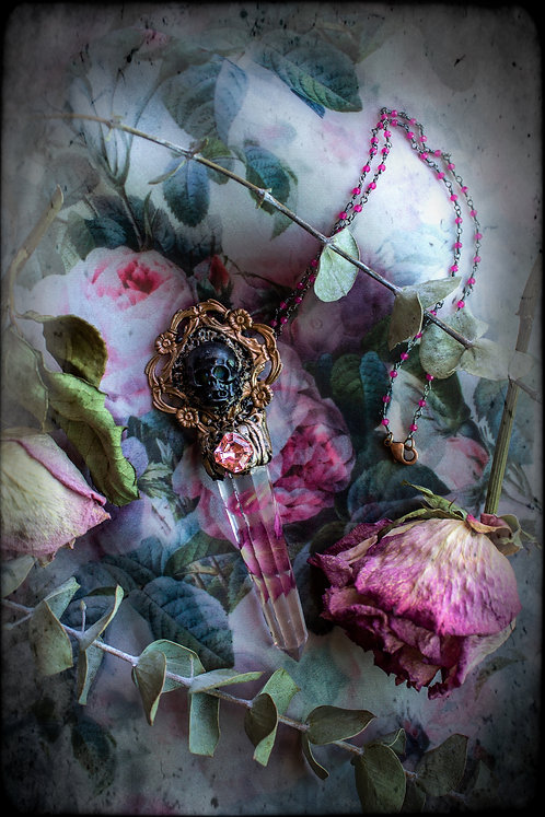 """The """"Ghostly Rose"""" Necklace"""
