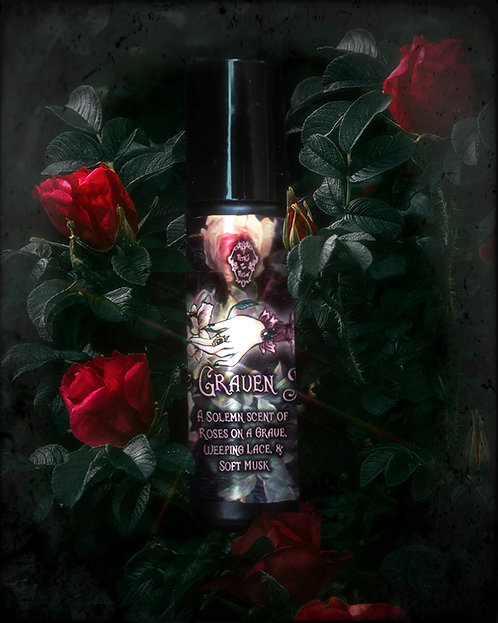 """The """"Graven Rose"""" Roll On Perfume 🥀🕯"""