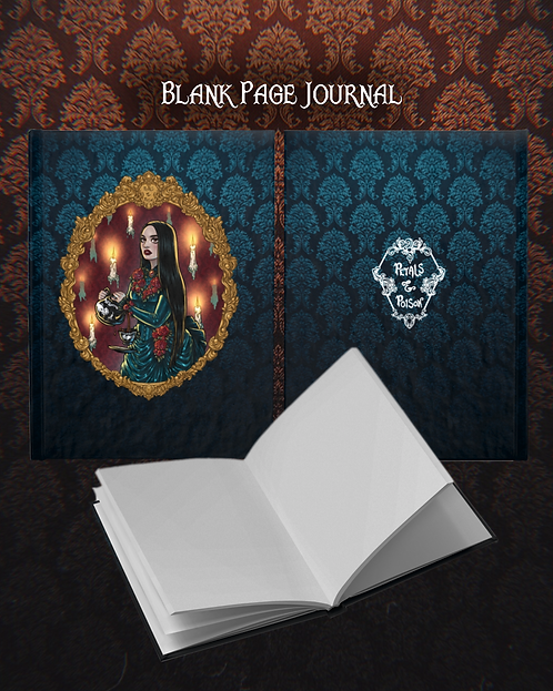 """Haunted Frame"" Blank Journal"