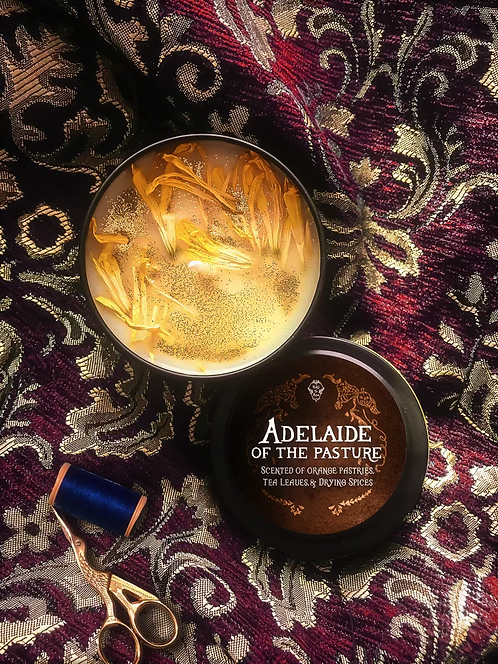 """The """"Adelaide of the Pasture"""" Tea Candle"""