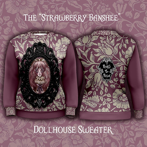 "Pre-Order The ""Strawberry Banshee"" Dollhouse Sweater"