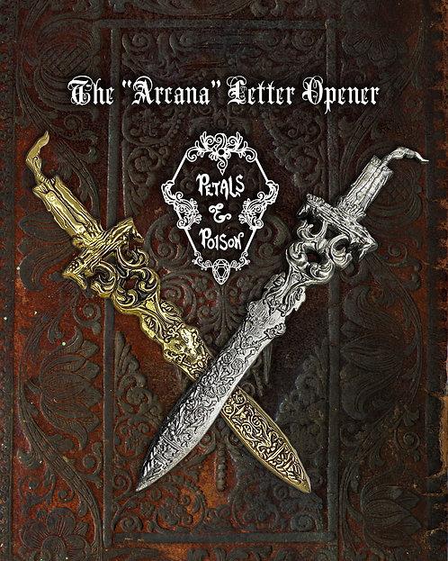 "The ""Arcana"" Letter Opener"