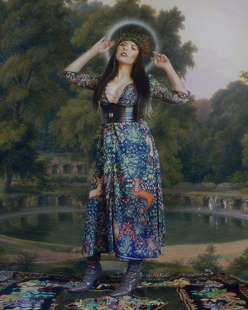 "Pre-Order The ""Mille-Fleur"" Victoriana Dress"
