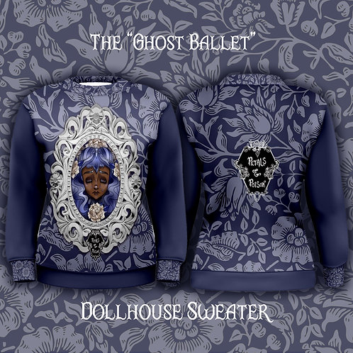 """Pre-Order The """"Ghost Ballet"""" Dollhouse Sweater"""