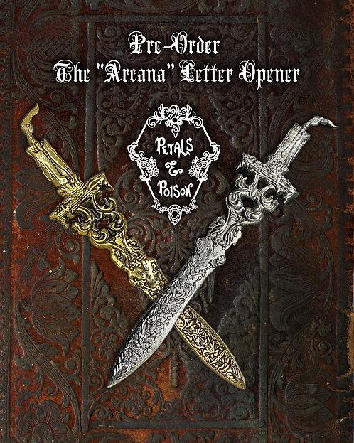 """Pre-Order: The """"Arcana"""" Letter Opener"""
