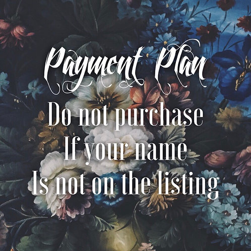 Payment Plan for Mariah R (5)