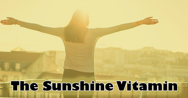 Low Vitamin D Linked to Headaches. A lady outside enjoying the sunshine.