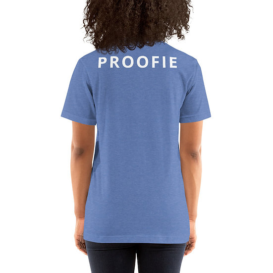 Proofie Women's Back Print - Short-Sleeve T-Shirt