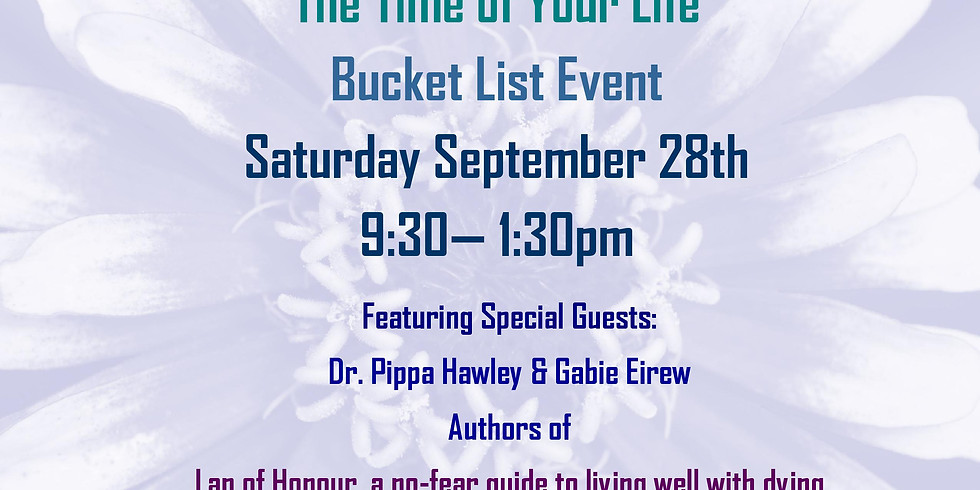The Time of Your Life Bucket List Event