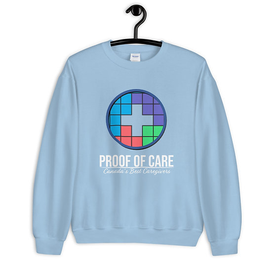 Proof of Care Unisex Sweatshirt