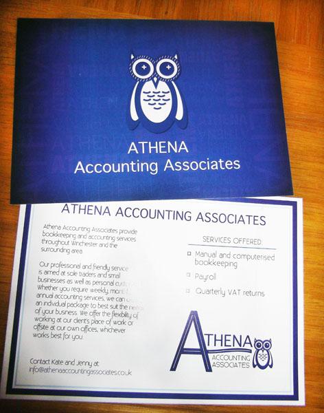 Athena Accounting Flyer