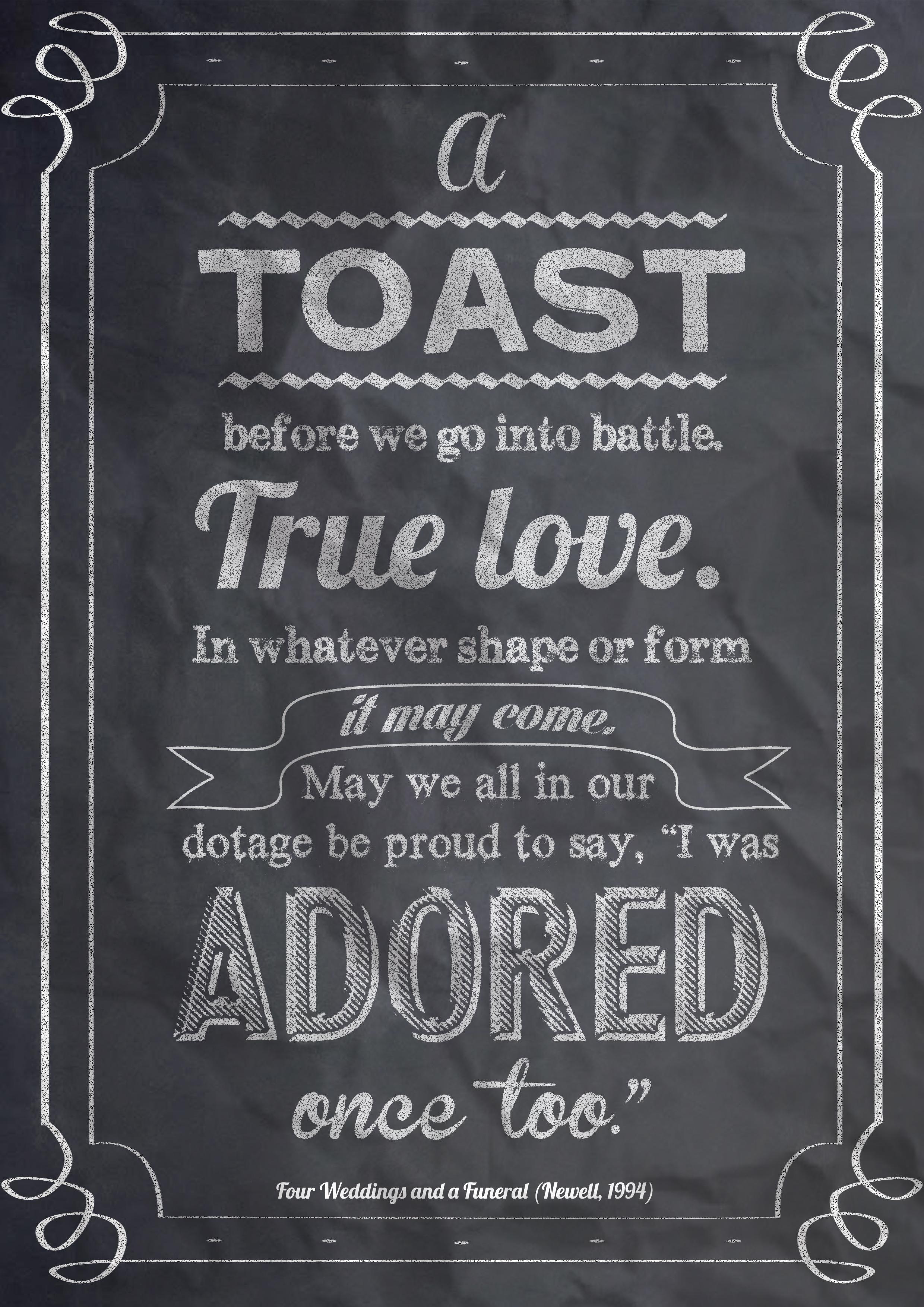 Film quote poster