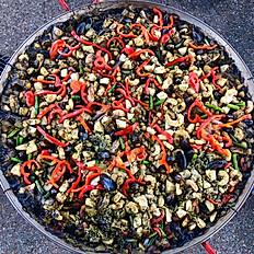 Black Squid Ink Seafood Paella