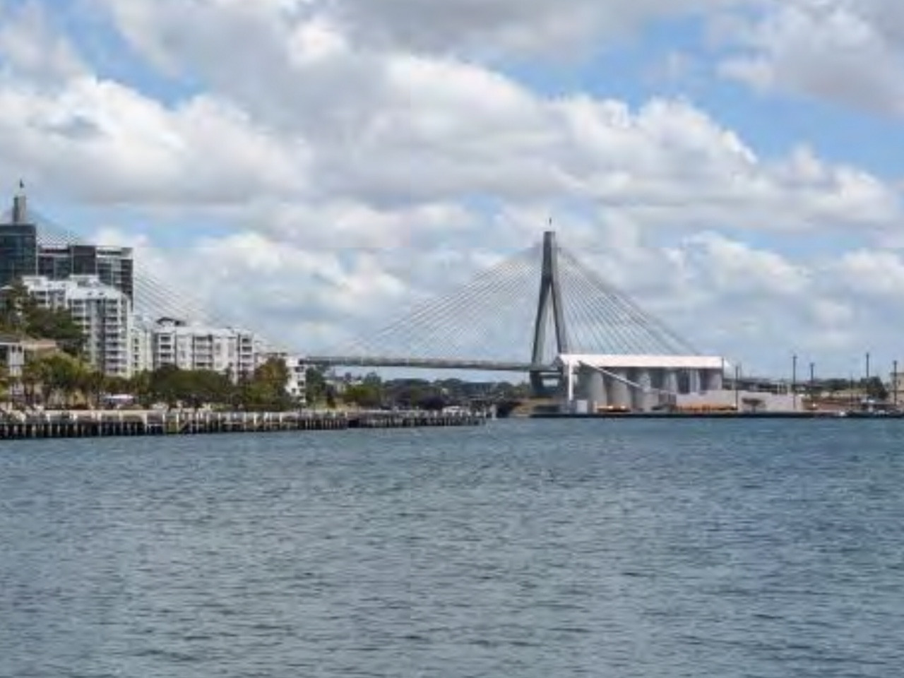 Potential view of Glebe Island
