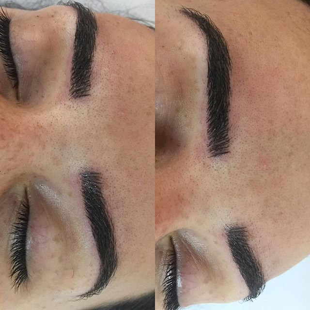 Machine Eyebrows/Microblading