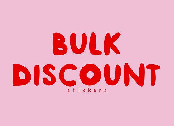 BULK ORDERS - stickers
