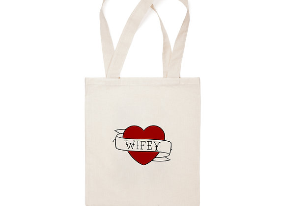 Wifey Tote Tote Bag