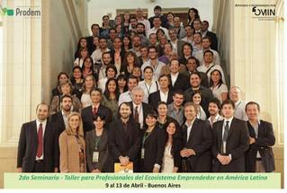 2° Seminario-Taller para Profesionales del Ecosistema Emprendedor en América Latina