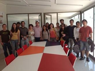Visita a Santiago Innova de alumnos de Biotecnología