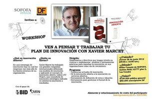 Workshop Innovación Abierta con Xavier Marcet