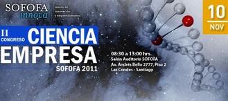 II Congreso Ciencia Empresa SOFOFA 2011