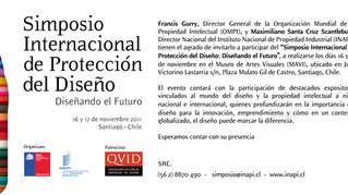 Simposio Internacional de Protección del Diseño Organizado por INAPI – WIPO