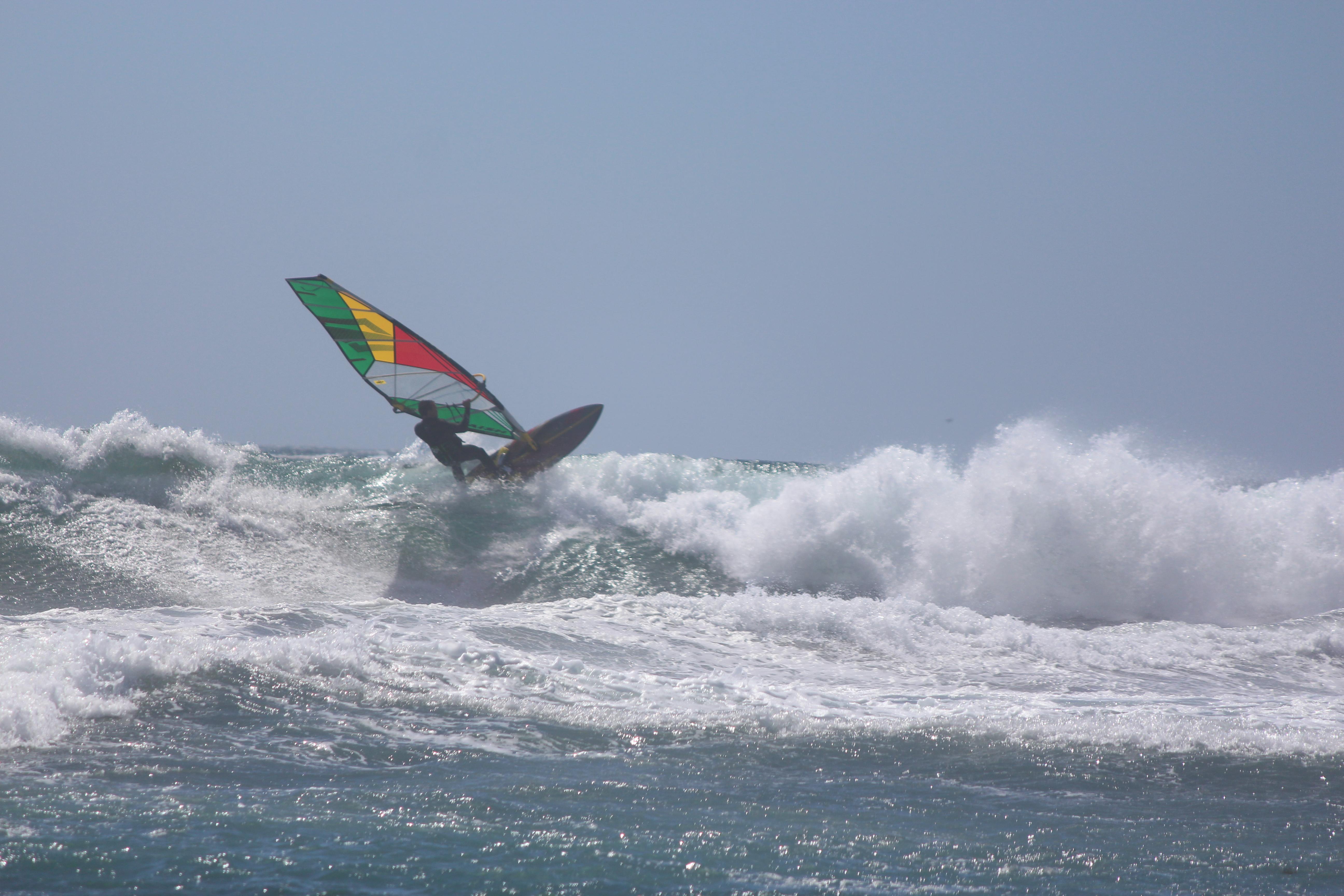 Windsurf en Pupuya