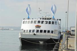 Hornblower-Hybrid from Alcatraz Cruises