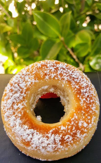 Mini italian donut (orange blossom): $1.30 each (Minimum order of 30)