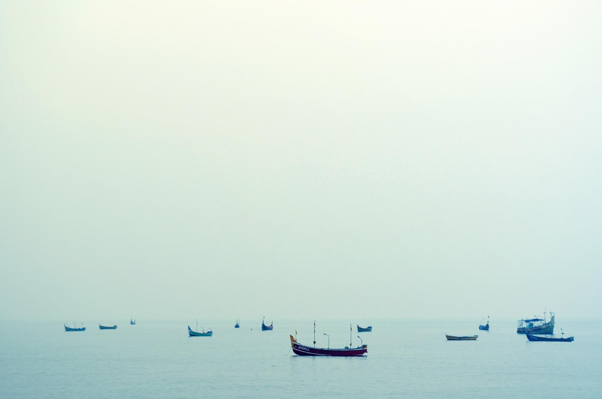 Лодки в воде
