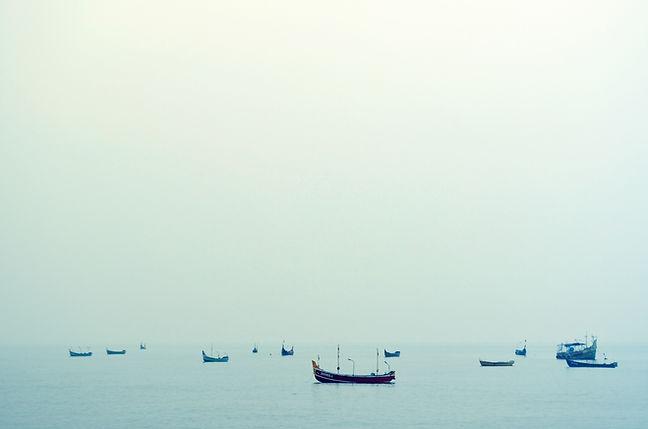 Barcos na água