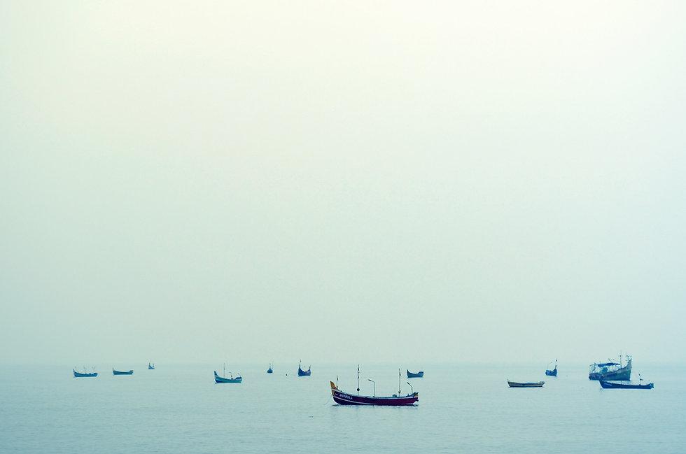 水のボート