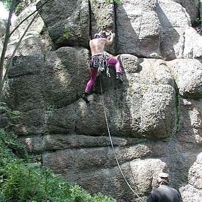 Skalní lezení 6 km