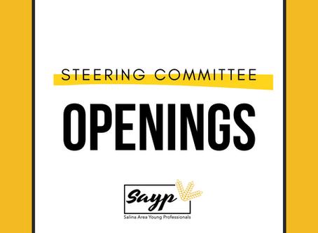 SAYP Steering Committee Openings