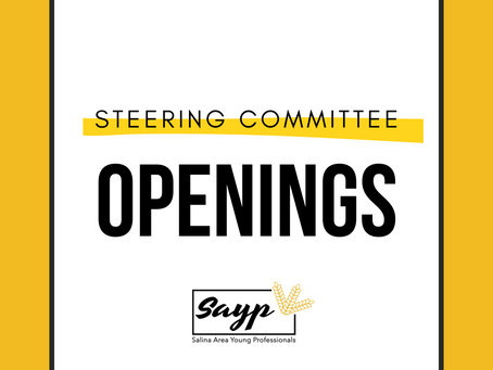 SAYP Steering Committee Openings