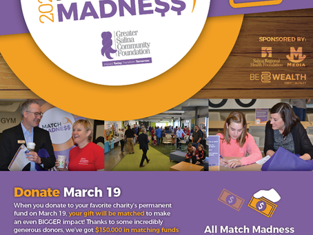 Match Madness 2020 - Greater Salina Community Foundation
