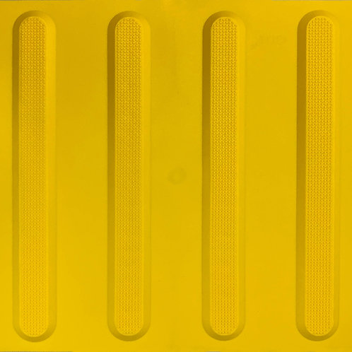 Soft Rubber Tactile_GOF_Yellow Directional Tactile
