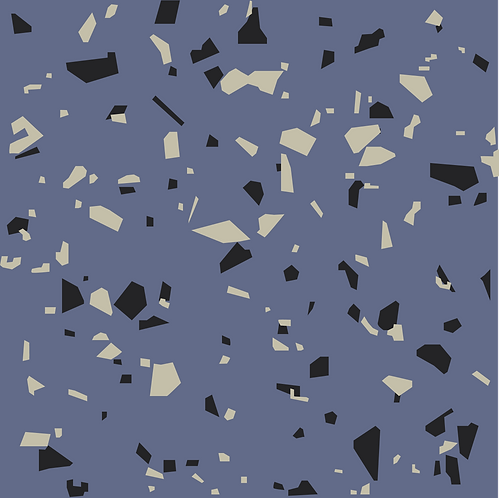 Rubber Flooring Tsinly Hammered_Cornflower Blue