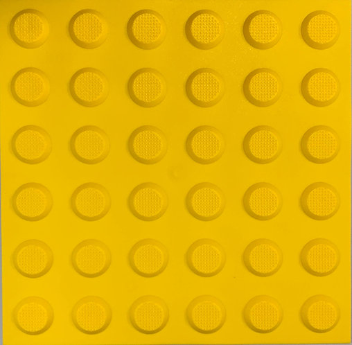 Soft Rubber Tactile_GOF_Yellow Warning Tactile