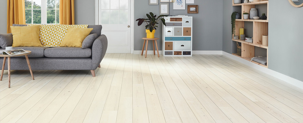 KP132 Washed Scandi Pine DS12 3mm Living