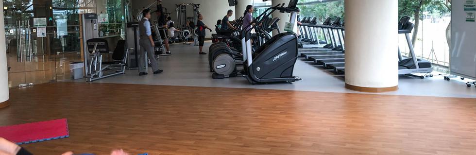 Rica_Gym Room at Ocean Shores Club House