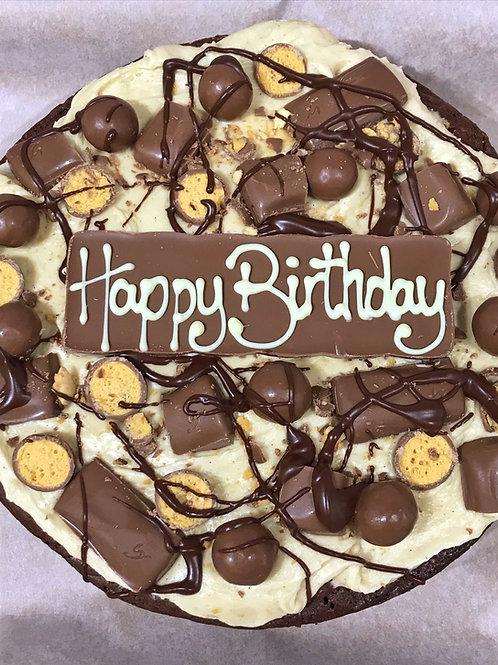 Luxury Brownie Cake