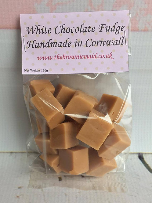 White Chocolate Fudge 150g