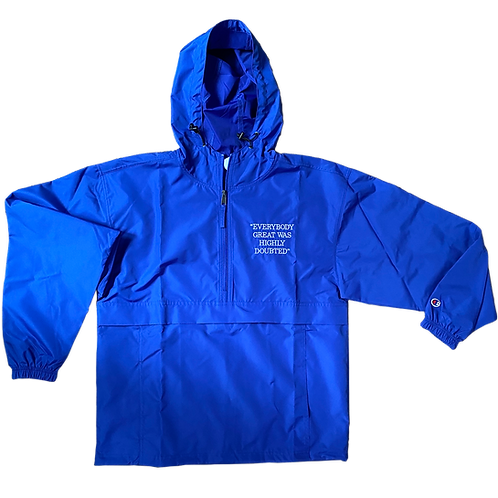 Everybody Great Blue Pullover Jacket